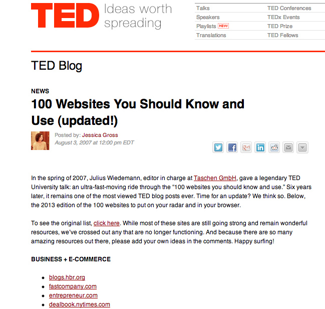 TED_100websites